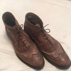 Allen edmunds Cronmok brown leather ankle boot